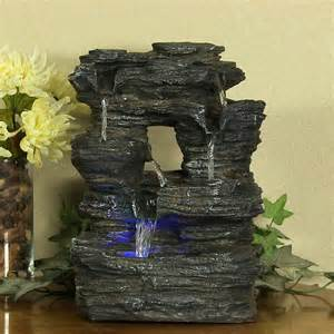 Fountain For Home Decoration by Indoor Home Decor Tabletop Falls Rock Water Fountain By