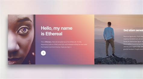 themeforest split licence ethereal free one page template download and review