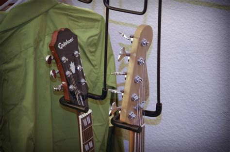 Guitar Closet Hanger by The New Closet Guitar Hanger By Garehan Kickstarter