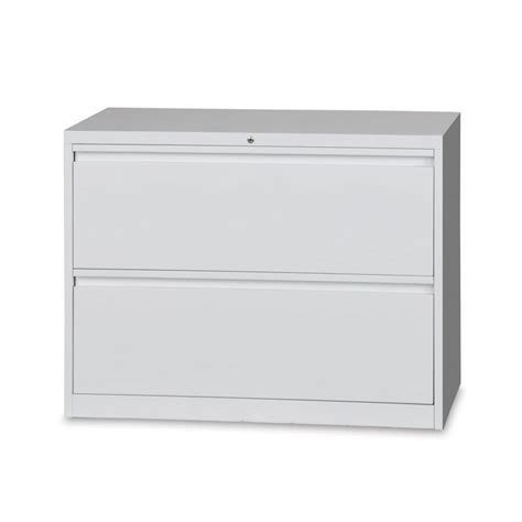 White 2 Drawer Lateral File Cabinet Lateral Filing Cabinets Krost Business Furniture