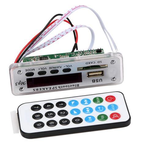 Bor Wireless ztv m01bt 12v mp3 wma decoder board audio module wireless bluetooth usb sd fm tf aux radio