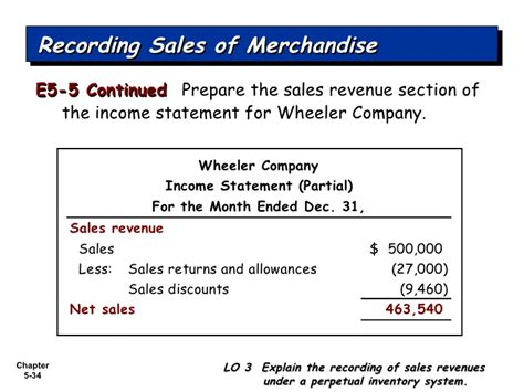 Section Of An Income Statement by Accounting For Merchandising Operations