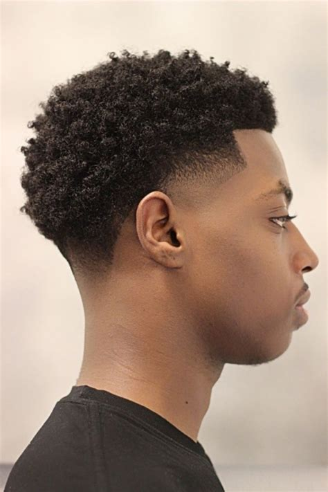 tapered haircut black men with afro mini afro with taper www pixshark com images galleries