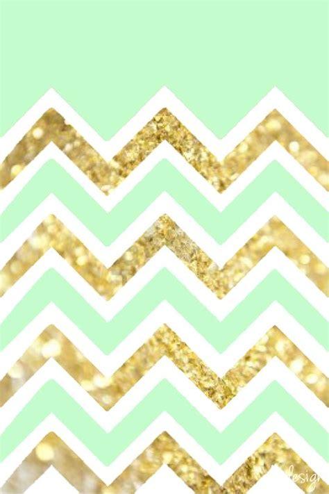 mint green  gold wallpaper gallery