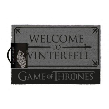 felpudo welcome you are felpudo of thrones welcome to winterfell