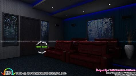 home theater design kerala master bedrooms dining home theater interiors kerala
