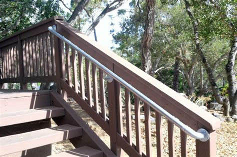 Outdoor Banister Railing by Handrail For Outdoor Stairs