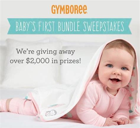 First Sweepstakes - gymboree s baby s first bundle sweepstakes giveaway gorilla