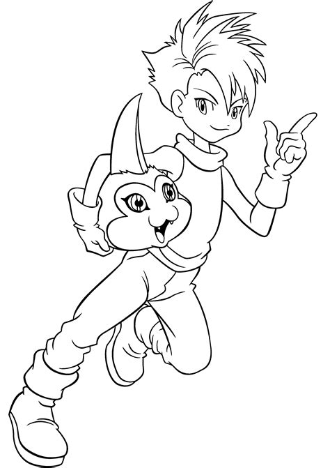 1000 Images About Coloring Pages On Pinterest Digimon Digimon Coloring Pages