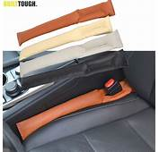 1PC PU LEATHER FRONT CAR SEAT GAP STOPPER LEAK PROOF STOP