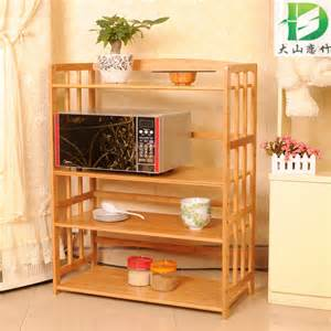 bamboo bamboo shelf solid wood microwave shelf oven rack