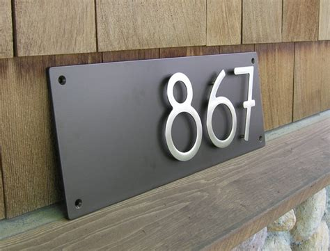 House Address Numbers by Image Gallery Home Address Numbers