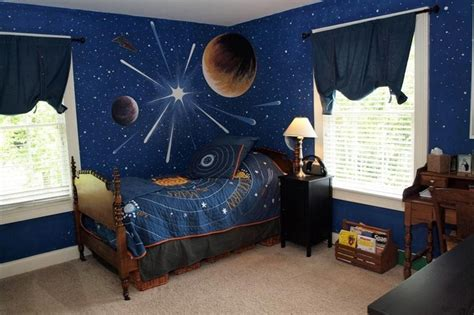 outer space room for the home