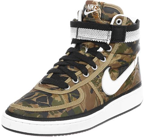 Nike Schuhe Camouflage by Nike Vandal High Supreme Vintage Shoes Camo