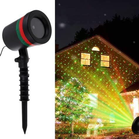 light projector laser x light laser light projector spotlight r g garden landscap decor ebay