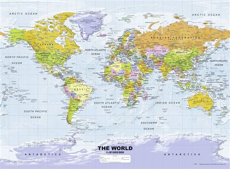 printable jigsaw map of the world puzzle political world map ravensburger 14755 500 pieces