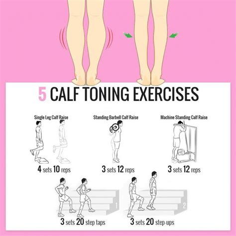 best 25 slim calves ideas on exercises for