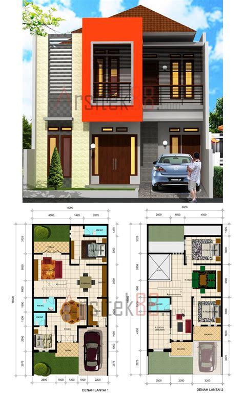 desain rumah dua lantai konsep desain rumah modern minimalis 2 lantai desain
