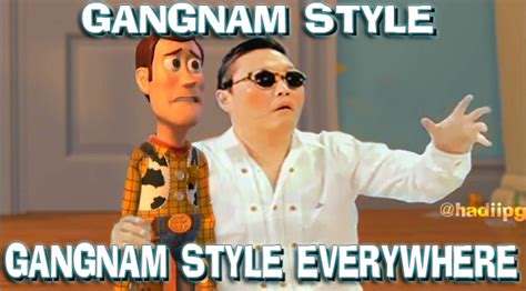 Gangnam Style Meme - gangnam style everywhere by yefta03 psy gangnam style