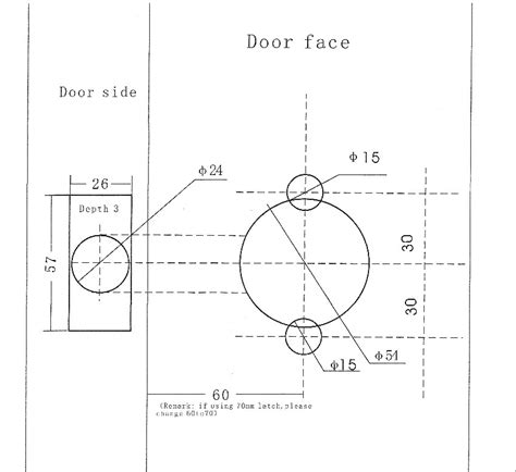 deadbolt template door backset template 2 189 quot backset mortise lock