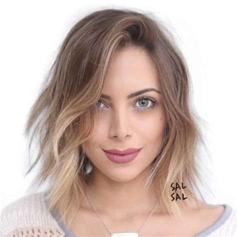 photo hair cut women oval face with high cheek bones 40 flattering haircuts and hairstyles for oval faces