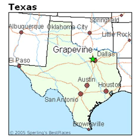 grapevine texas map best places to live in grapevine texas