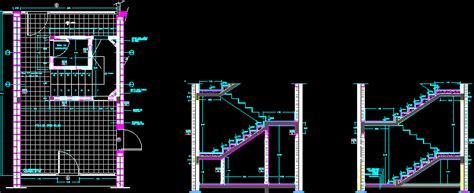 stuck in layout view autocad stair two tracts dwg section for autocad designs cad