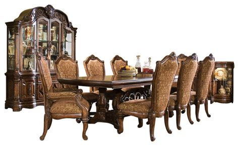 10 court rectangular dining table set with