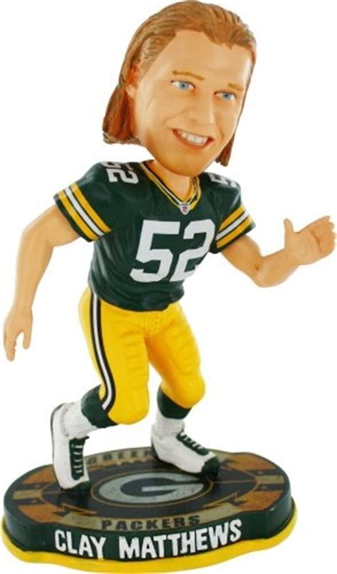 d mo bobblehead clay matthews green bay packers and green bay on