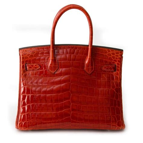Hermers Swagger Croco Limited brand new herm 232 s birkin 30 sanguine crocodile niloticus lisse for sale at 1stdibs
