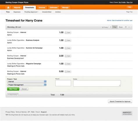 harvest invoice template best invoicing software for freelancers harvest vs