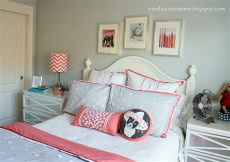 coral and grey bedroom remodelaholic 30 bedrooms for teen girls