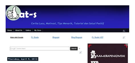 tutorial desain header website cara buat header blog biasa menjadi keren