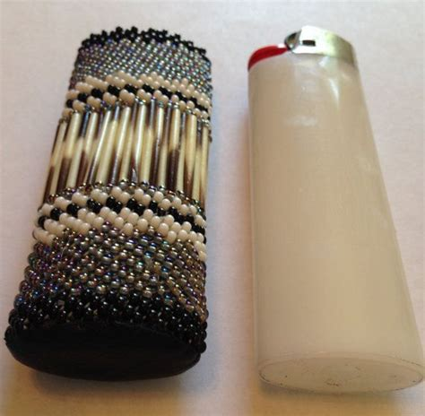 how to make beaded lighter covers american inspired beaded lighter cover lighter