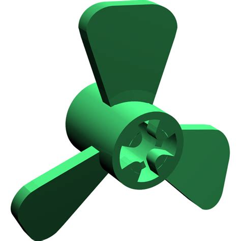 lego boat propeller lego green small boat propeller with 3 blades 6041