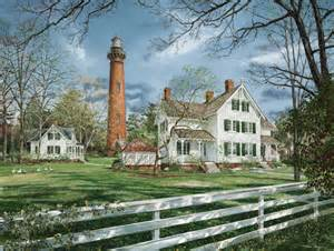Fall Garden Nc - currituck beach lighthouse puzzle jigsaw puzzles