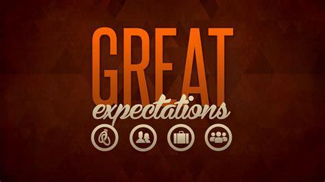 great series great expectations church sermon series ideas
