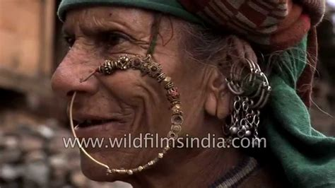 nose rings older women old woman wears traditional nath or nose ring in