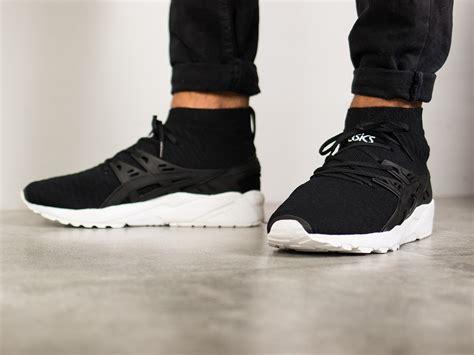 Asics Gel Kayano Trainer Knit s shoes sneakers asics gel kayano trainer knit mt h7p74n 9090 best shoes sneakerstudio