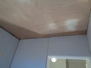 Bathroom Ceiling Plasterboard by Bathroom Converted To A Shower Room With Bathroom Storage