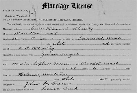 Record Of Marriage License Introducing Record Detective Ii 171 Myheritage