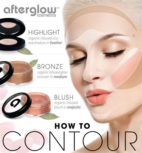 Contour Makeup how to contouring and highlighting your with makeup just trendy