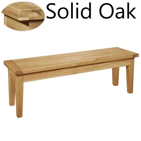 solid oak benches panama solid oak furniture dining room bench ebay