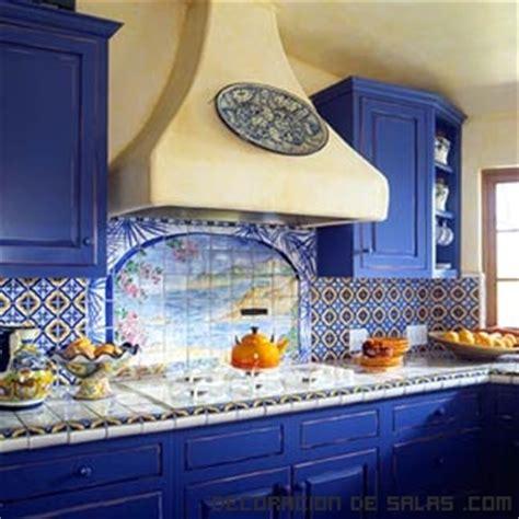 Azul Mexican Kitchen by Azulejos De Colores En La Cocina