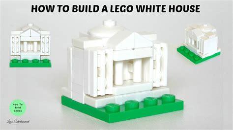 tutorial lego house how to build a lego white house tutorial youtube