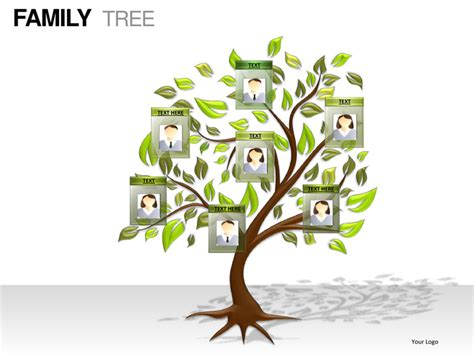 Family Tree Powerpoint Presentation Templates Family Powerpoint Templates Free