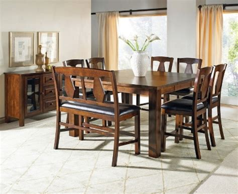 6 piece counter height dining set with bench new 6 piece counter height dining set table bench 4 chairs