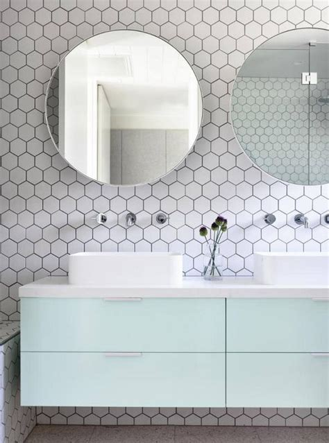white hexagon tile bathroom 39 stylish hexagon tiles ideas for bathrooms digsdigs