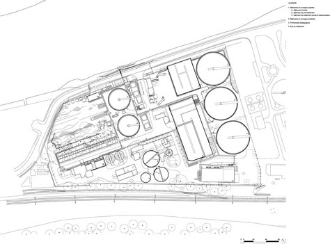 layout plan of water treatment plant water treatment plant by awp