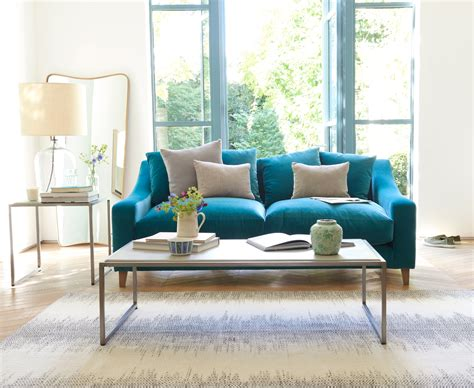 Sofa Oscar Terbaru Teal Teal Ideas For Your Living Room Andin Jaguar Modern View In Gallery Teal Blue